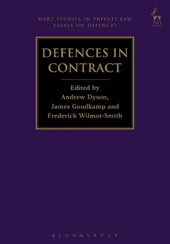Defences in Contract - Hart Studies in Private Law: Essays on Defences (Hardback)
