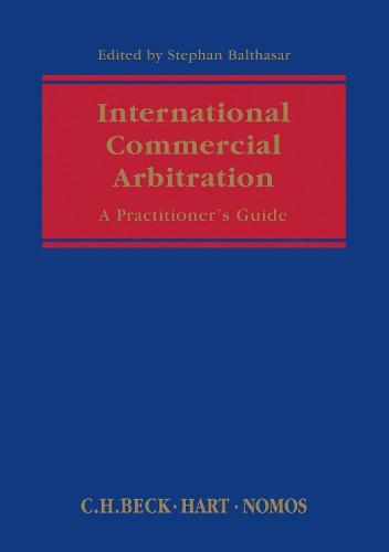 International Commercial Arbitration: A Handbook (Hardback)