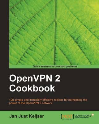 OpenVPN 2 Cookbook (Paperback)