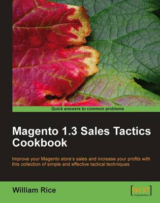 Magento 1.3 Sales Tactics Cookbook (Paperback)