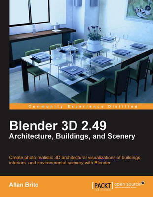 Blender 3D 2.49 Architecture, Buidlings, and Scenery (Paperback)