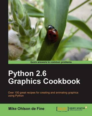 Python 2.6 Graphics Cookbook (Paperback)