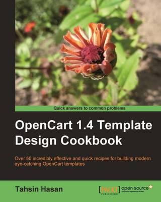 OpenCart 1.4 Template Design Cookbook (Paperback)