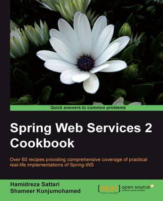 Spring Web Services 2 Cookbook (Paperback)
