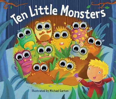 Ten Little Monsters (Hardback)