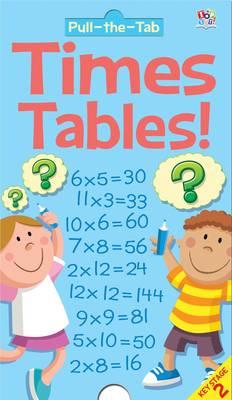 Pull-the-Tab Times Tables (Hardback)