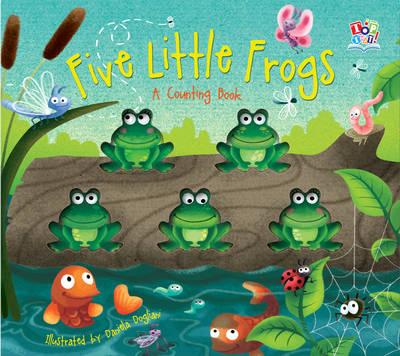 Five Little Frogs (Board book)