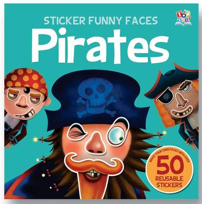 Pirates - Sticker Funny Faces (Paperback)