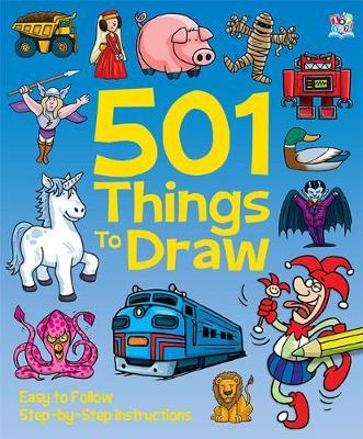 501 Things to Draw - 501 Folders (Hardback)