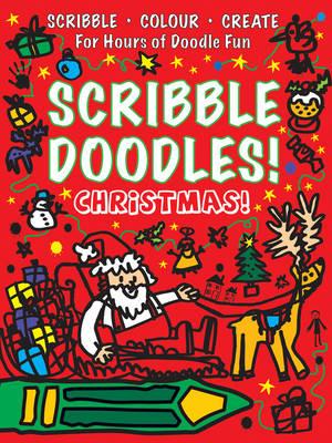 Christmas Scribble Doodles (Paperback)