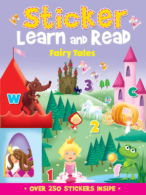 Sticker, Learn and Read: Fairy Tales (Paperback)