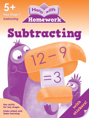 Subtracting 5+ - Help with Homework (Paperback)