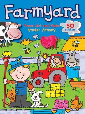 Press Out and Make: Farmyard (Paperback)