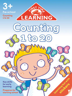 First Time Learning: Counting 1-20 (Paperback)