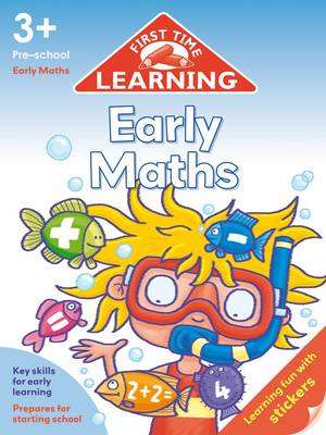 First Time Learning 3+ Early Maths (Paperback)
