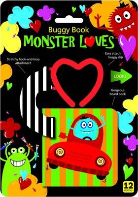 Monster Loves Buggy Book (Board book)