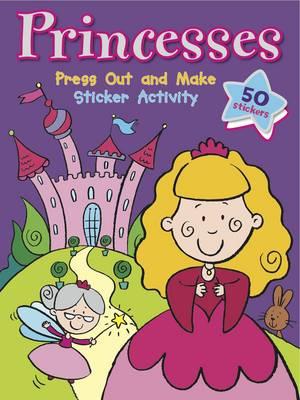Princess Press, Play & Sticker: Sticker Activity - Sticker Activity (Paperback)