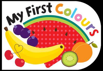 My First Colours - Chunky books (Board book)