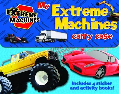 My Extreme Machines Carry Case: Includes 4 Sticker Activity Books - Extreme Machines (Paperback)