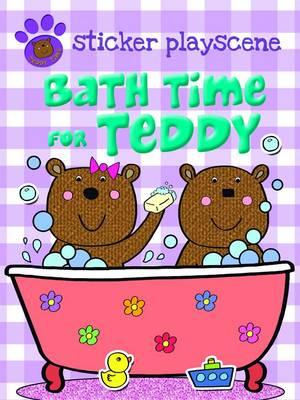 Bath Time For Teddy - Teddy Sticker Activity (Paperback)