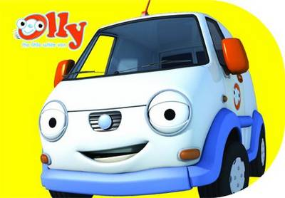 Olly the Little White Van: Chunky Storybook - Olly the Little White Van (Board book)