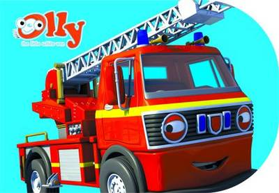 Royston the Fire Engine: Chunky Storybook - Olly the Little White Van (Board book)