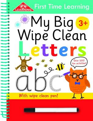 First Time Learning Wipe Clean-Letters: Spiral Bound (Spiral bound)