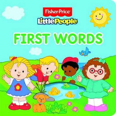 Fisher Price Little People Words (Board book)