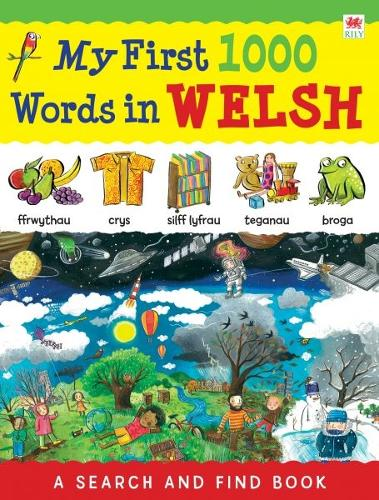 My First 1000 Words in Welsh (Paperback)