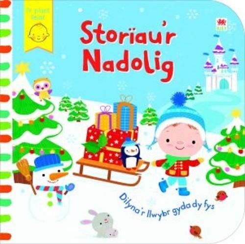 Cyfres Dilyna'r Llwybr gyda dy Fys: Storau'r Nadolig (Hardback)