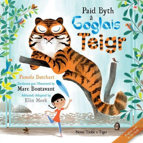 Paid Byth a Goglais Teigr/Never Tickle a Tiger (Paperback)
