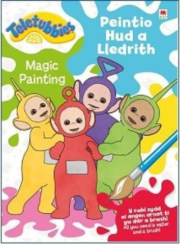Teletubbies: Peintio Hud a Lledrith / Magic Painting (Paperback)