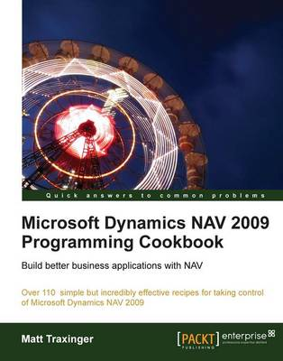 Microsoft Dynamics NAV 2009 Programming Cookbook (Paperback)