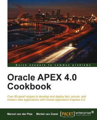 Oracle APEX 4.0 Cookbook (Paperback)