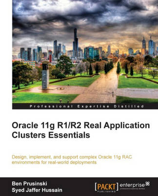 Oracle 11g R1/R2 Real Application Clusters Essentials (Paperback)