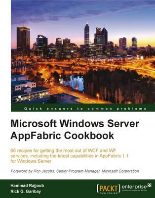 Microsoft Windows Server AppFabric Cookbook (Paperback)