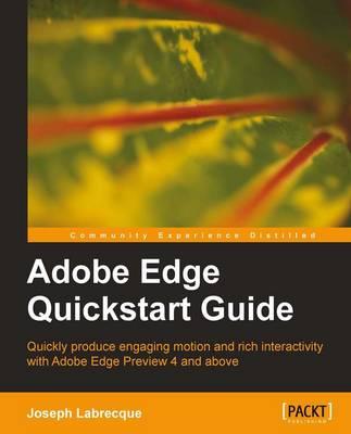 Adobe Edge Quickstart Guide (Paperback)