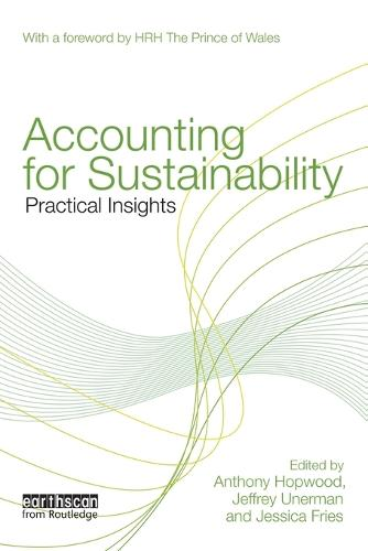 Accounting for Sustainability: Practical Insights (Paperback)