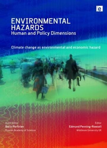 Climate Change as Environmental and Economic Hazard - Environmental Hazards (Hardback)