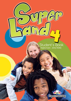 Superland 4 Student's Book (Egypt) (Paperback)