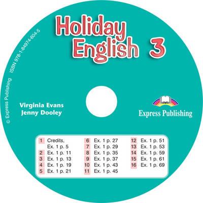 Holiday English 3 El Ingles Para Las Vacaciones CD (Spain) (CD-Audio)