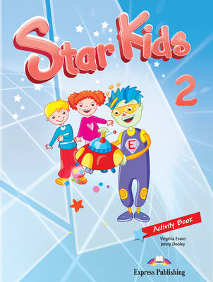 Star Kids: Activity Book (Latin America) Level 2 (Paperback)