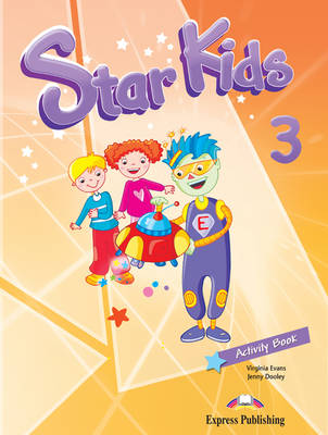 Star Kids: Activity Book (Latin America) Level 3 (Paperback)
