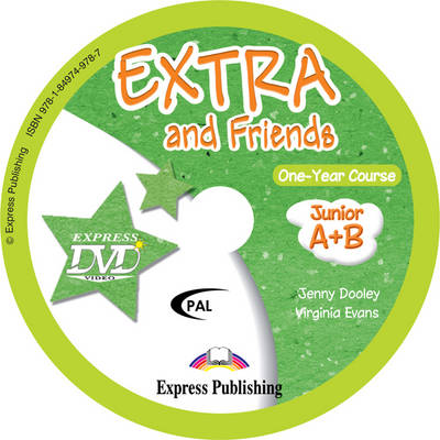 Extra & Friends Junior A + B One-Year Course DVD PAL (Greece) (DVD)