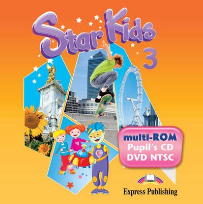 Star Kids: Pupil's Multi-rom NTSC (Latin American) Level 3 (DVD)