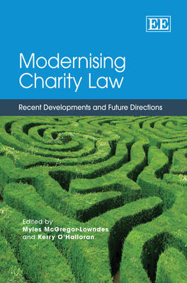 Modernising Charity Law: Recent Developments and Future Directions (Hardback)