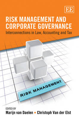 Risk Management and Corporate Governance: Interconnections in Law, Accounting and Tax (Hardback)