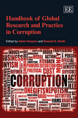Handbook of Global Research and Practice in Corruption (Hardback)