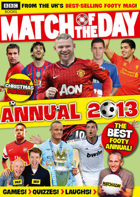 Match of the Day Annual 2013 (Hardback)