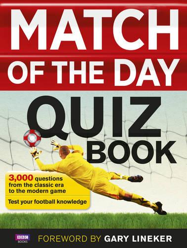Match of the Day Quiz Book (Paperback)